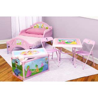 delta disney princess table and chair set delta children disney princess room in a box with foldable
