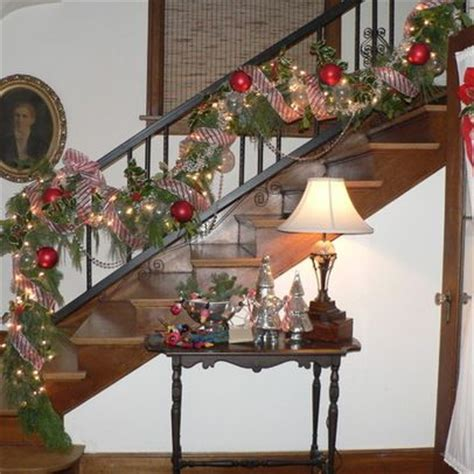 Christmas Decorations For Stair Rail
