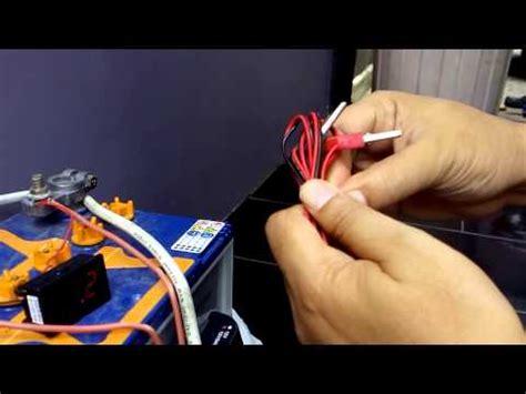 Panel Inventer Otomatis Menghidupkan Inventer Ketika Listrik Padam menyalakan lu menggunakan aki doovi