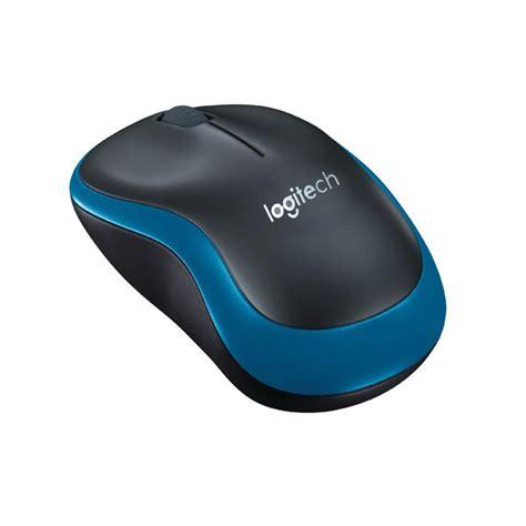 Mouse Wireless Logitech M185 genuine logitech m185 wireless mouse w nano receiver blue black free shipping dealextreme