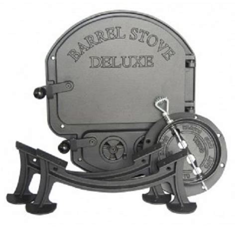 Barrel Stove Door by Vogelzang Bk150e Airtite Door Deluxe Barrel Stove Kit Ebay