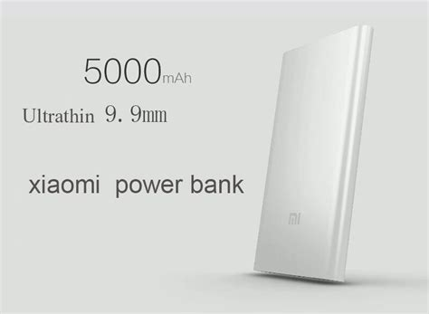 Power Bank Xiaomi Malaysia bdl original xiaomi slim 5000mah power bank end 5 7 2015 12 10 00 pm