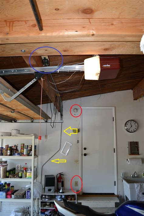 Garage Outlet by Help With Wiring Of Garage Lights South Bay Riders