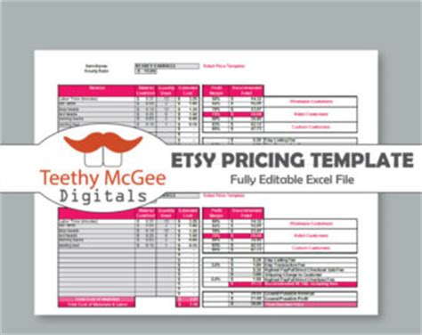 etsy business plan template work order form for screen printing instant