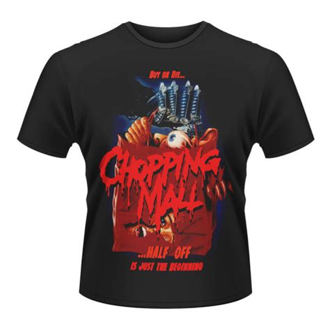 Where To Buy Shirts In Malls Chopping Mall S T Shirt Merchandise Zavvi