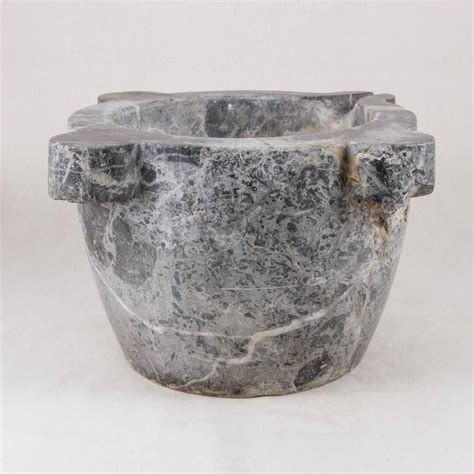 Large Antique Vases by Large Antique Marble Mortar Bowl Planter