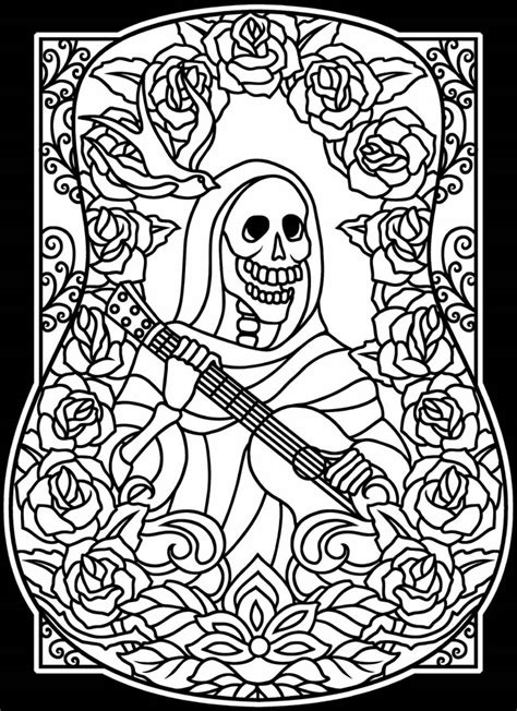 coloring books for grown ups dia de los muertos welcome to dover publications