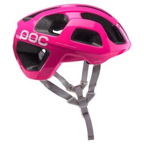 Poc Octal Raceday Fluorescent Pink helmets large choice at probikeshop