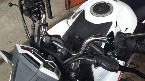 Saklar Tiger Revo Untuk Cb150r ganti setang all new cb150r pake punya vixion dan