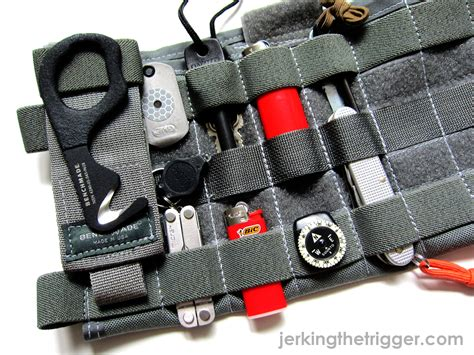 survival truck gear review zulu nylon gear molle visor panel jerking the