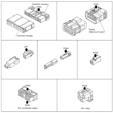 nissan electrical connectors nissan rogue service manual harness connector dtc