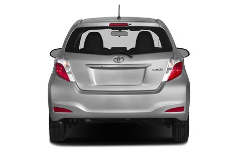 Rear View All New Yaris 2014 2014 toyota yaris price photos reviews features
