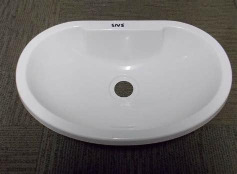 Caravan Bathroom Sinks by Elddis Compass Buccaneer Caravan Motorhome Bathroom White