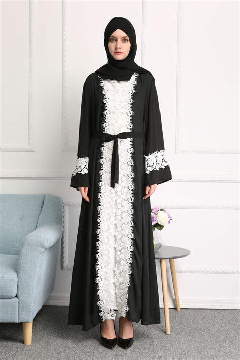 Hijabjilbab Sequin Pet Item dubai kaftan open abaya jilbab islamic muslim cardigan