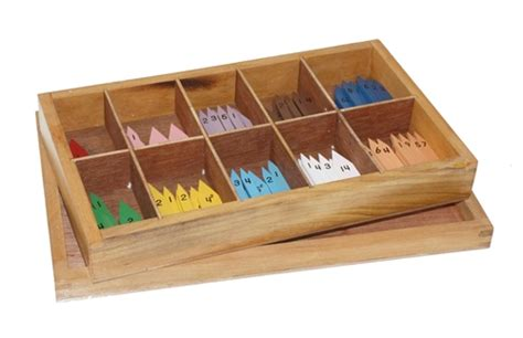 wooden bead box montessori materials wooden printed arrows for bead