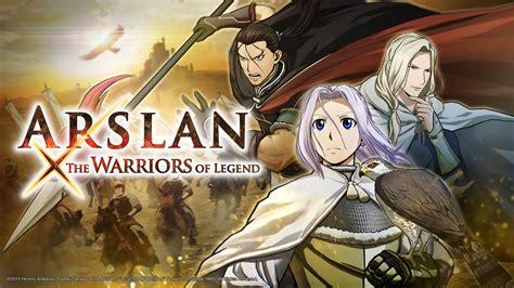 heroic legend of arslan koei tecmo announce arslan the warriors of legend