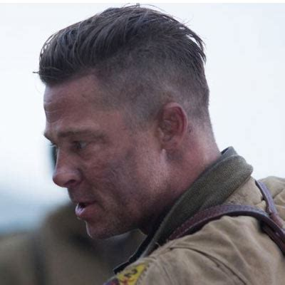 army haircut fury brad pitt fury haircut