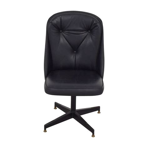 leather swivel desk chair 62 black leather swivel office desk chair chairs