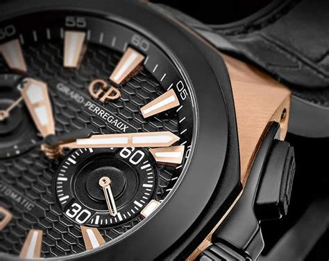 Black Hawk Chrono Black Gold girard perregaux chrono hawk in gold officially launched