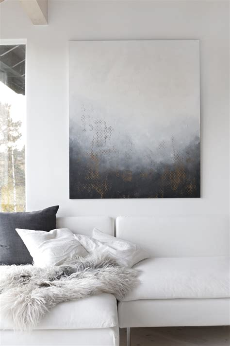 home interior and gifts large painting with gray frame new art for your wall stylizimo