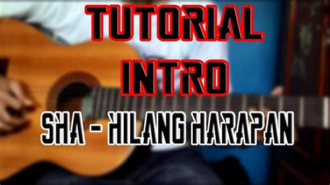 tutorial gitar one thing gitar tutorial intro hilang harapan stand here alone