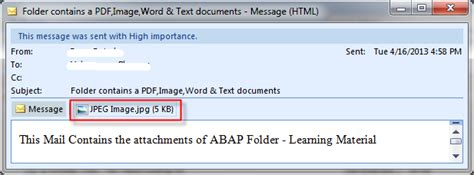 format email wiki send emails with attachments of any format abap