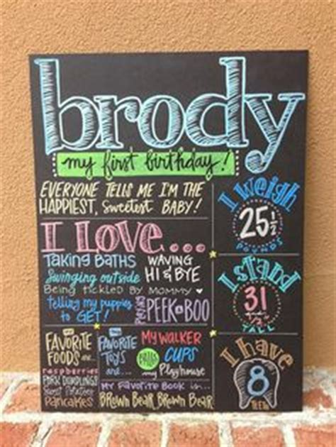 chalkboard paint on poster board 2nd birthday chalkboard birthday poster sign boy 2 year