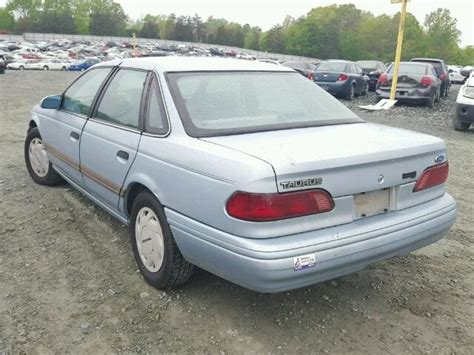 1992 ford taurus for sale 1992 ford taurus gl for sale at copart mebane nc lot