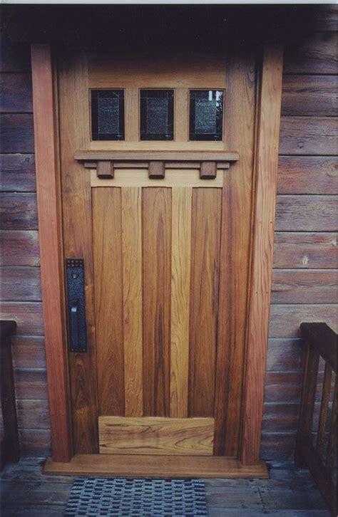 Exterior Doors Craftsman Style Best 25 Craftsman Style Front Doors Ideas On