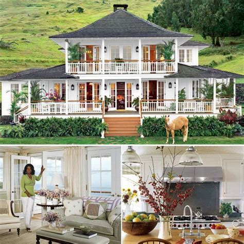 Oprahs Hawaiian Home In Earthquake by Happy Birthday Oprah Peek Inside Homes Home