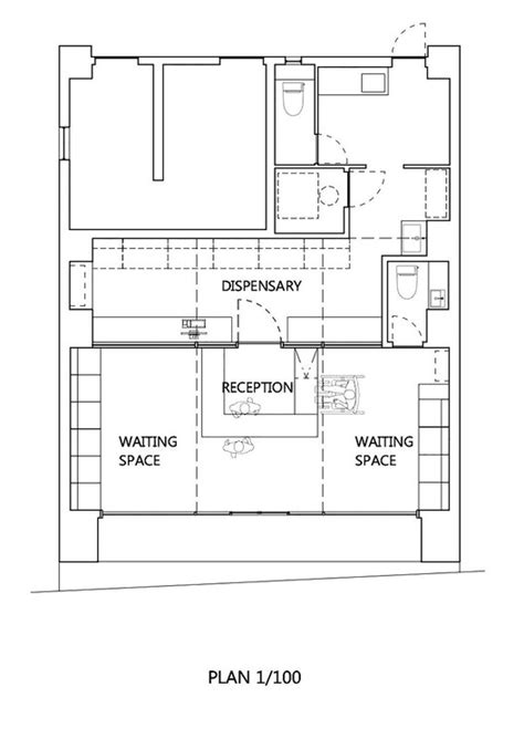 pharmacy floor plan pharmacy in omori mamm design archdaily