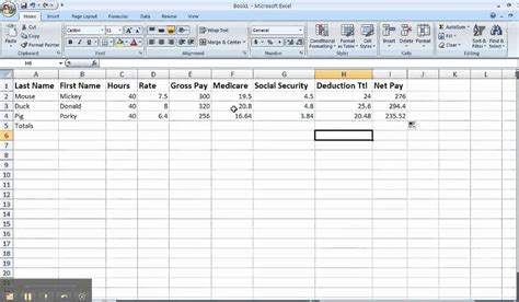 Payroll Spreadsheets by Mj Payroll Spreadsheet Tips
