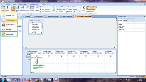langka membuat query juli eka yanti langkah langkah membuat form tombol