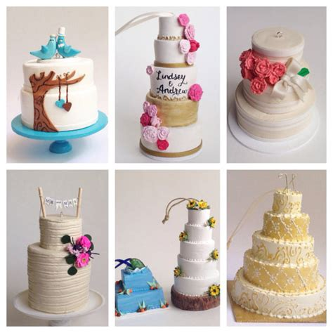 Wedding Cake Ornament by How To Turn Your Wedding Cake Into An Ornament