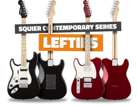 squier jaguar left handed new left handed squier contemporary series guitars