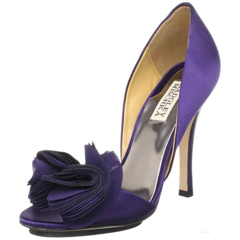 Purple Shoes by All 143 Purple Bridal Shoes