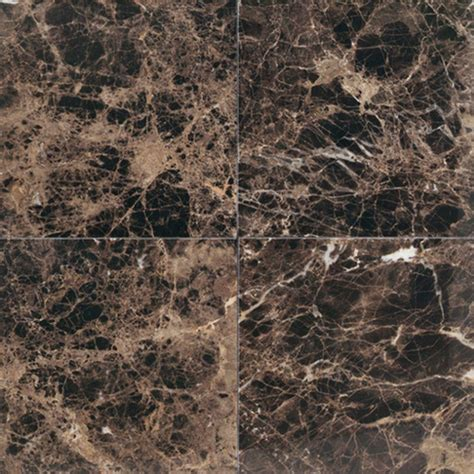 daltile natural stone collection emperador dark 12 in x 12 in polished marble floor and wall