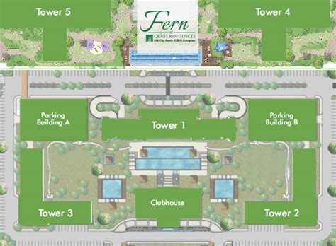 Laboratory Floor Plan fern at grass residences by smdc