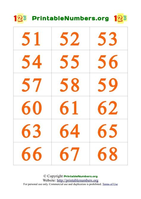 printable number cards 1 to 100 number cards 1 to 100 printable search results