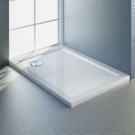 piatto doccia 80x110 piatto doccia ultrasottile in acrilico 4cm bianco
