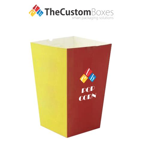 Printed Popcorn Box popcorn boxes custom printed popcorn boxes wholesale