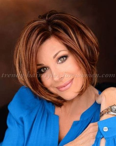 short hairstyles over 50   Dominique Sachse bob hairstyle