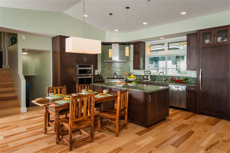 tri level home kitchen design mauka to makai case study archipelago hawaii luxury home design