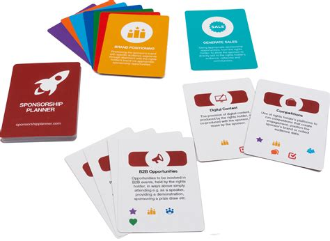 sponsorship cards proposal for services template free