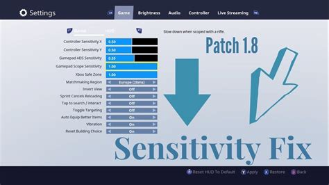fortnite zoom glitch fortnite best sensitivity settings sniper fix new