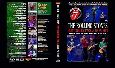 rolling stones blu ray dvd complete glastonbury