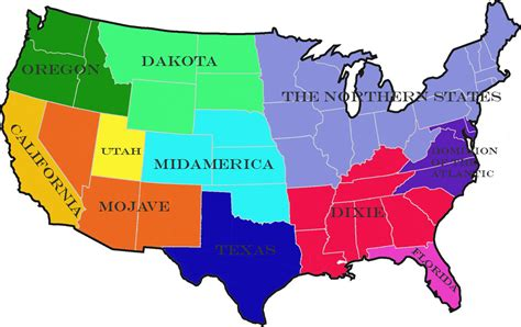 northern usa map representations maps of america