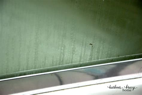 ways  clean glass shower doors harbour breeze home