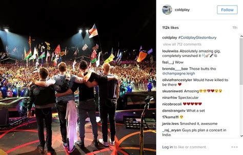 coldplay instagram home matm marketing at the mill