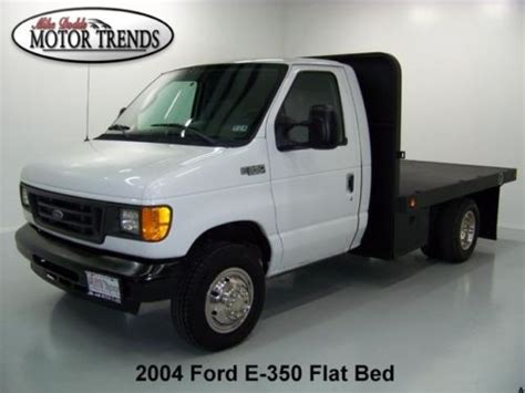 how does cars work 2004 ford e series engine control find used 2004 ford e350 e 350 diesel se custom bedlined flat bed van drw only 55k in alvin